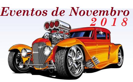 eventos - Eventos de Novembro - 2018