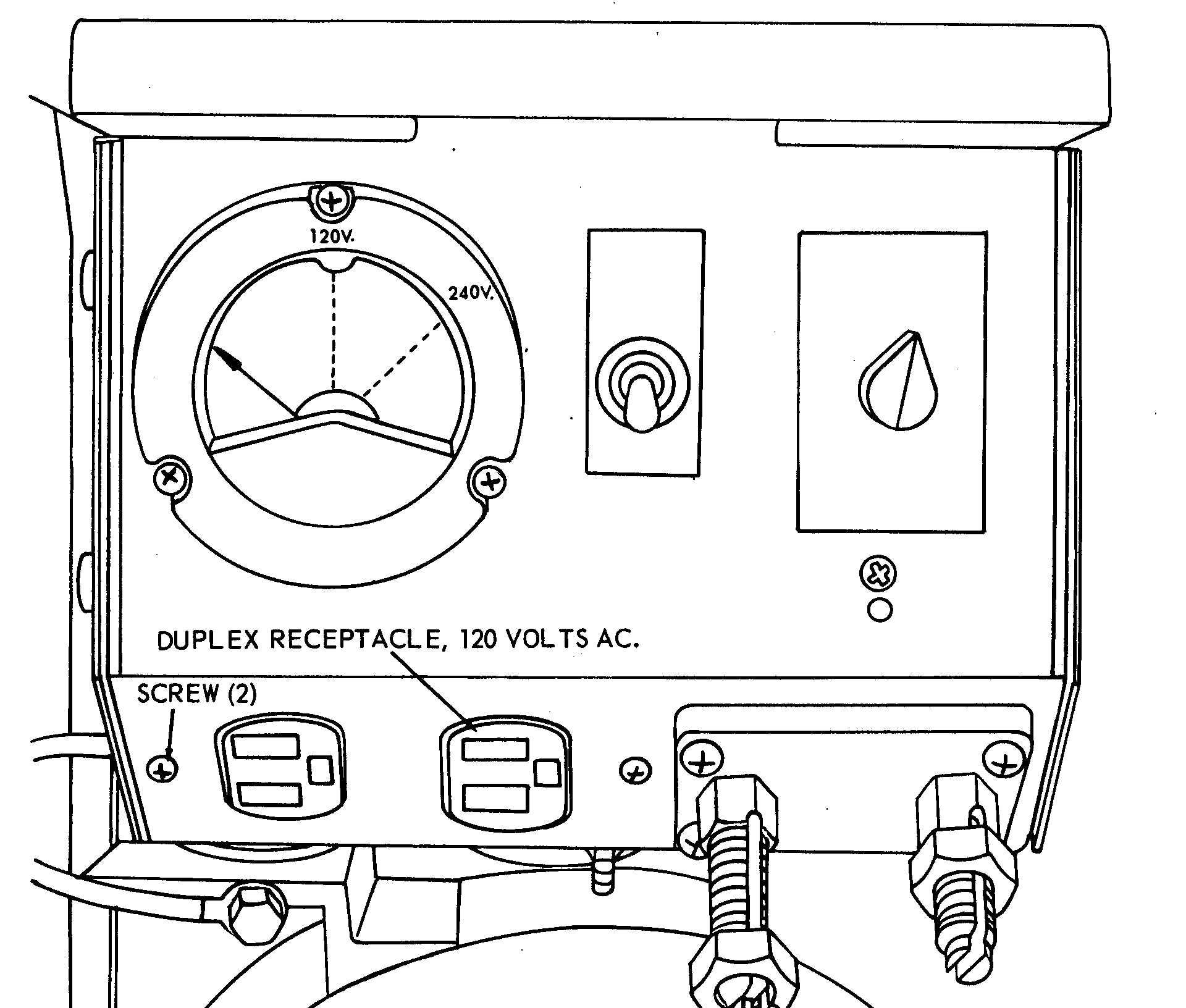 Duplex Receptacle 120 Volts Ac