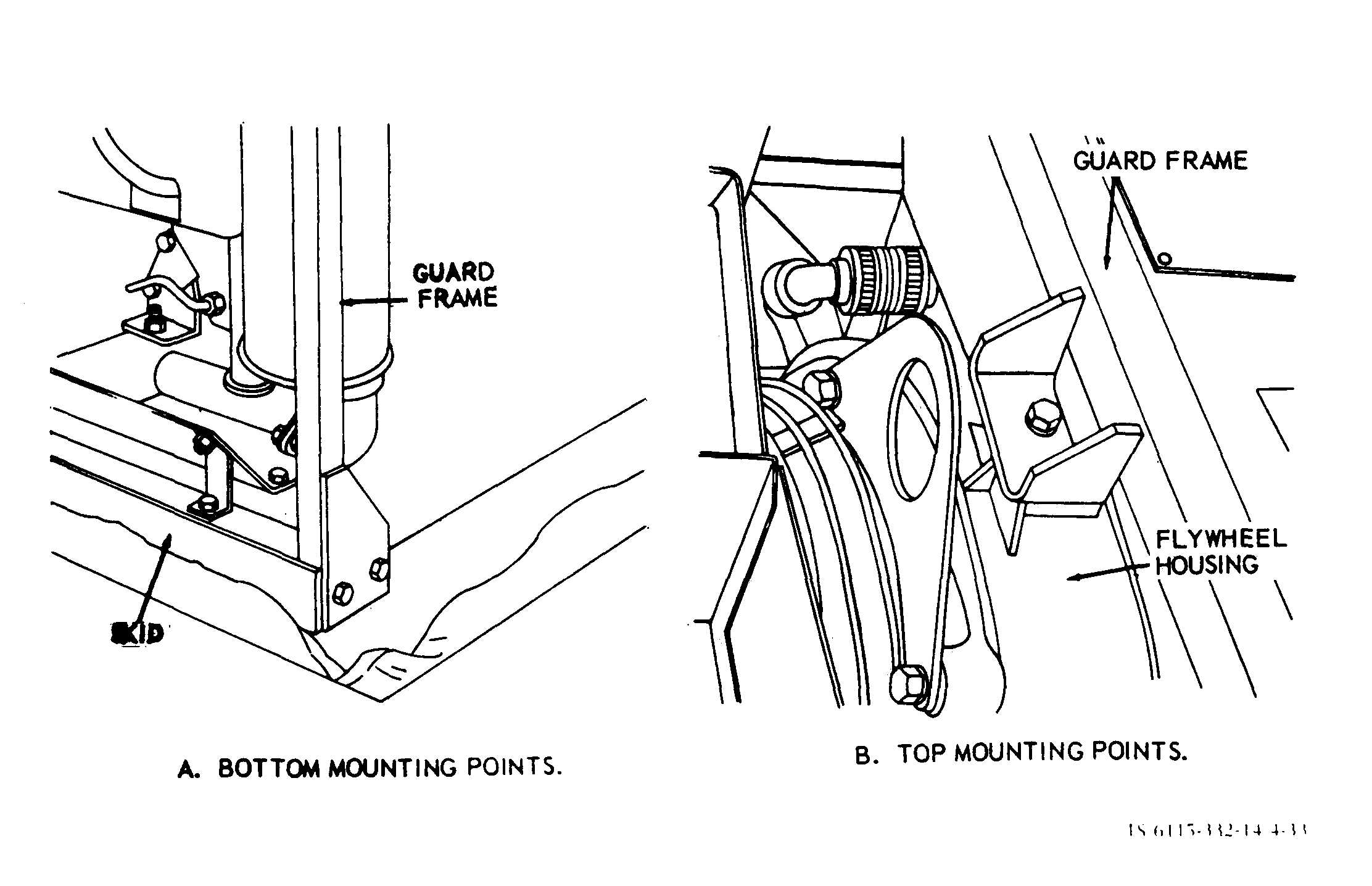 Section X. MAINTENANCE OF THE FRAME ASSEMBLY