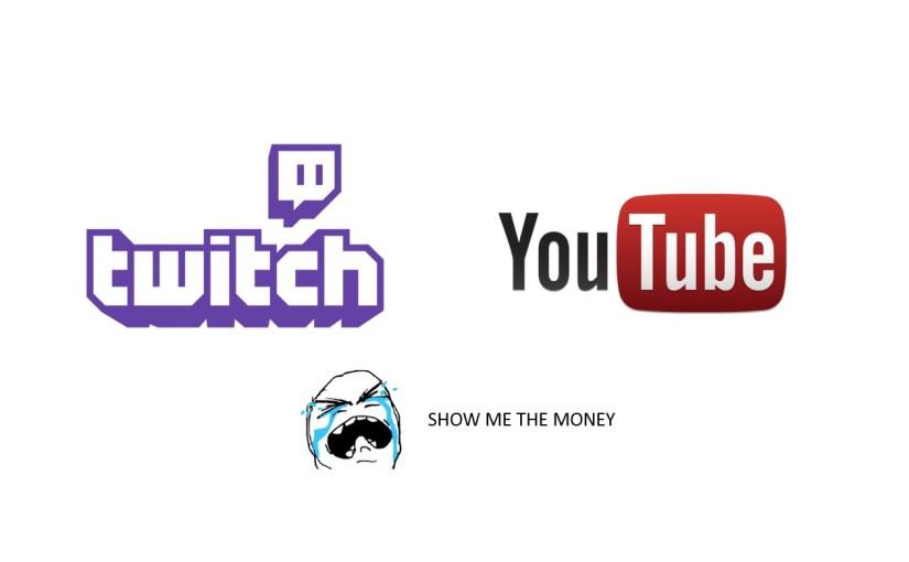 我到底如何在Youtube與Twitch賺錢?
