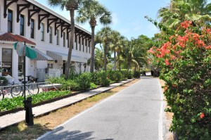Visting historic Boca Grande Village number 2 on our top 10 things to do on Boca Grande.