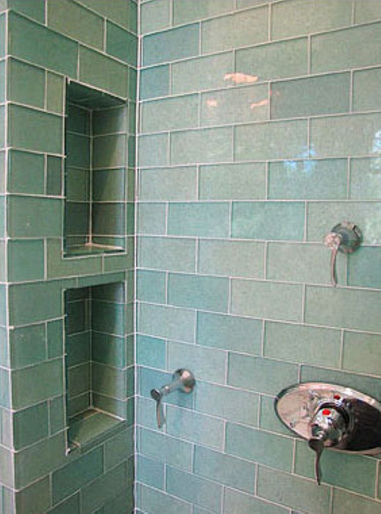 Eco Materials RecycledContent Tile for Kitchens and Baths  Gaspars Construction