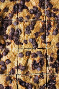 Protein cookie bars