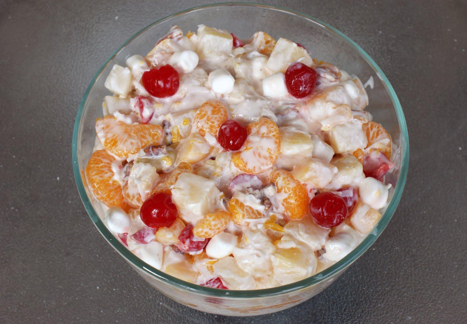 ambrosia fruit salad recipe allrecipes com