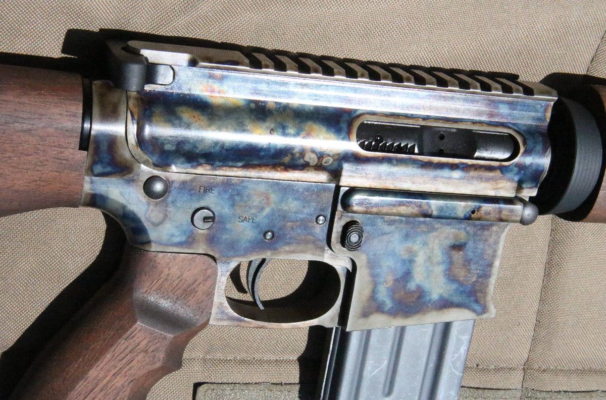 steel wood ar 15