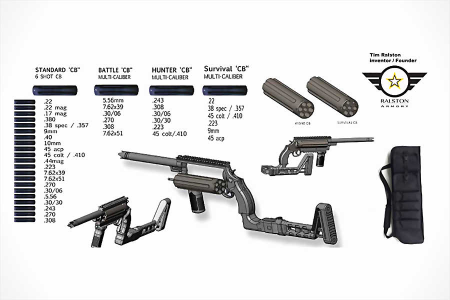 Ultimate Multi-Caliber Survival Rifle On Course for 2017