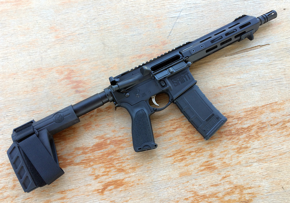 hight resolution of the springfield saint is a great out of the box option if you re looking for a 300 blk ar pistol