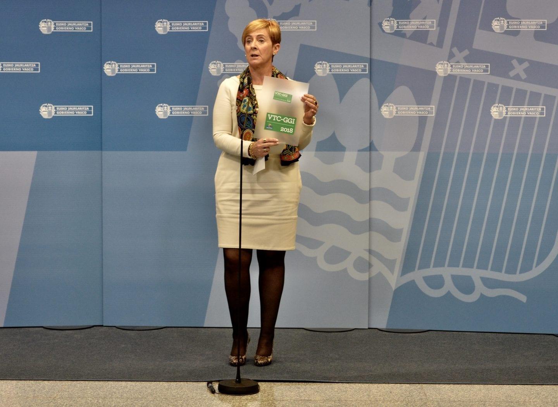Arantxa Tapia, consejera de Desarrollo Económico e Infraestructuras del Gobierno Vasco | GV