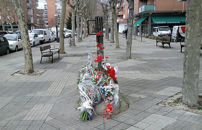 Foto de la ofrenda floral del 3 de marzo del 2018