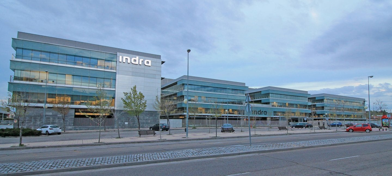Sede de Indra en Alcobendas (Madrid) | Foto: Wikipedia