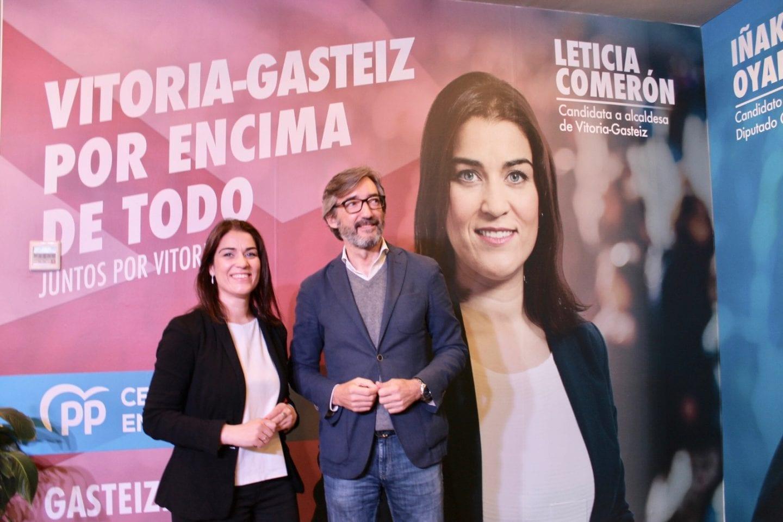 Arranque campaña Leticia Comerón Iñaki Oyarzabal (1)