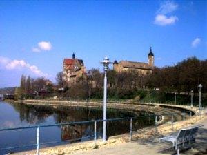 Uferpromenade am Süßen See in Seeburg - Mansfelder Seengebiet