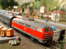 Eine von Europas größten Modellbahnen in Wiehe