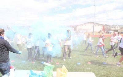 GC Middle School Color Run