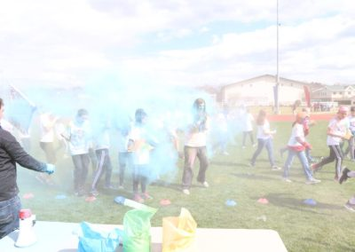 GC Middle School Color Run