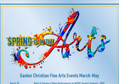 Spring in the Arts