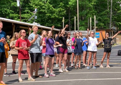 GCS High School Spiritual Retreat at Crowders Camps