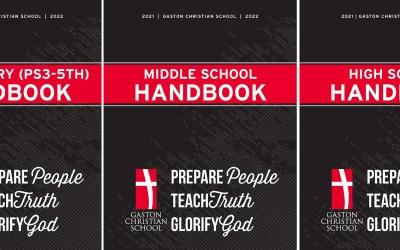 Updated GCS Parent – Student Handbooks