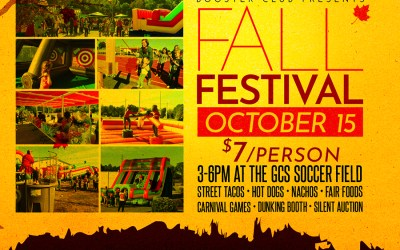 The Annual Booster Club Fall Festival is BACK!!