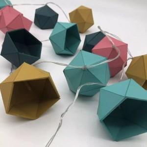 """9E0225C2 4E94 4E91 8D95 B85085035814 rotated - Leewalia - Guirlande lumineuse origami """"Scandinave"""""""
