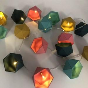 """D427A0AA C9E0 42AC A7A3 338EF167A248 rotated - Leewalia - Guirlande lumineuse origami """"Blaune"""""""