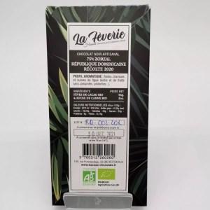 "IMG 20201107 152904 - Hasnaâ chocolat La Fèverie "" Zorzal 75%"""