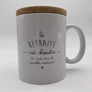 "IMG 2058 - Marcel et Lily - mug ""la retraite"""
