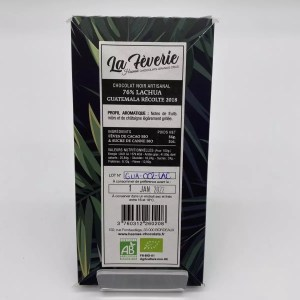 "IMG 2126 - Hasnaâ chocolat La Fèverie "" Lachua 76%"""