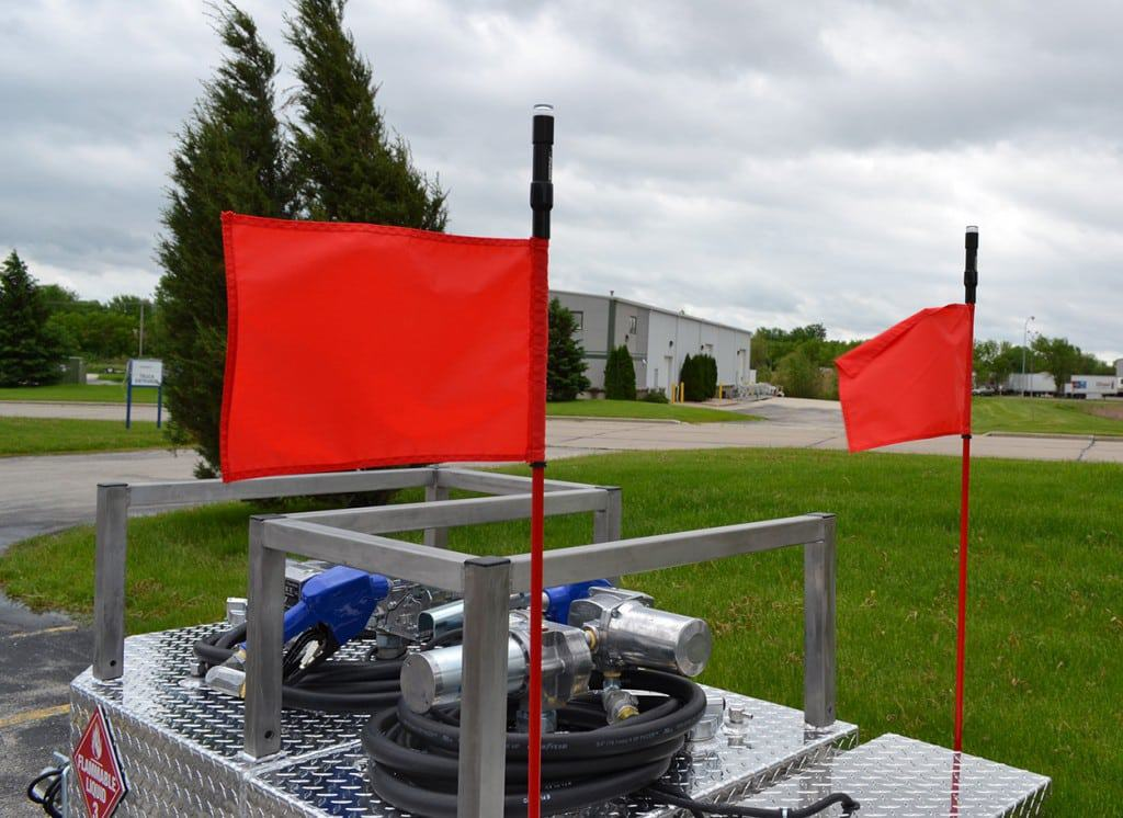Marker Flags with LEDs