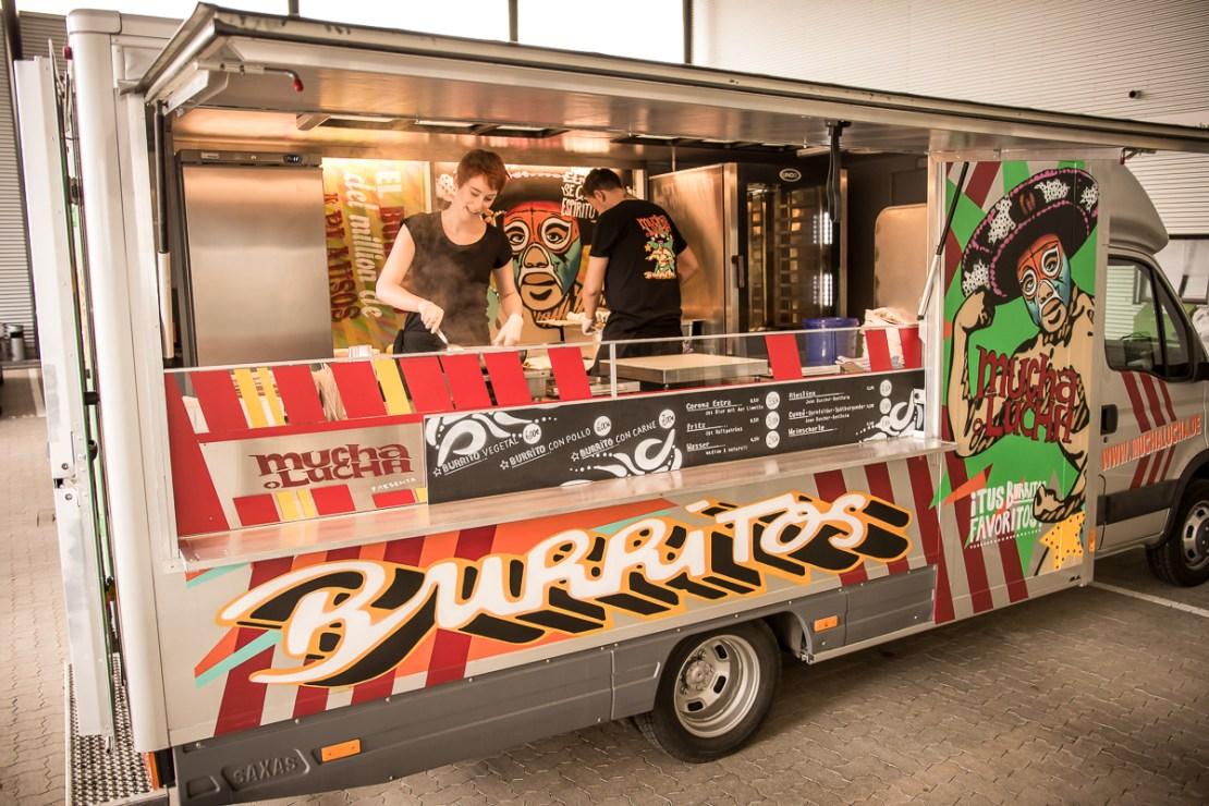 Food-Truck Bau für Street-Food