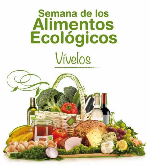 Cartel de la Semana de los Alimentos Ecológicos