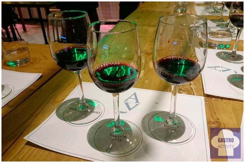 Cata de vino tinto de Viñedos Alonso del Yerro en Mercado de San Ildefonso