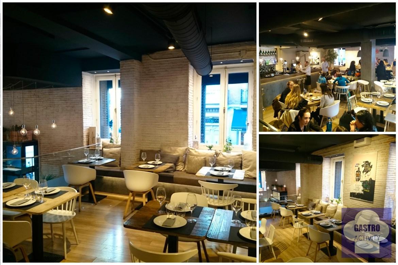 Restaurante Sexto Interior y decoracion