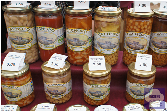 Conservas Cachopo en Mercado de Productores