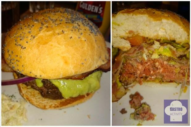 Hamburguesa Bronx en New York Burger Castellana