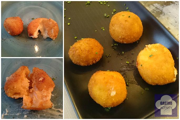 Croquetas de queso Idiazábal y las Croquetas de carabineros de restaurante Le Coco