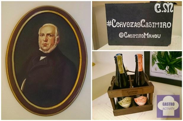 Casimiro Mahou el inspirador de Cervezas Mahou de Madrid