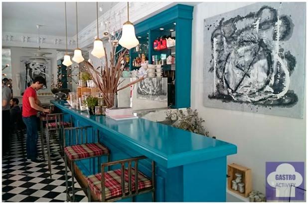 Interior de Ganz Café-Bistrot