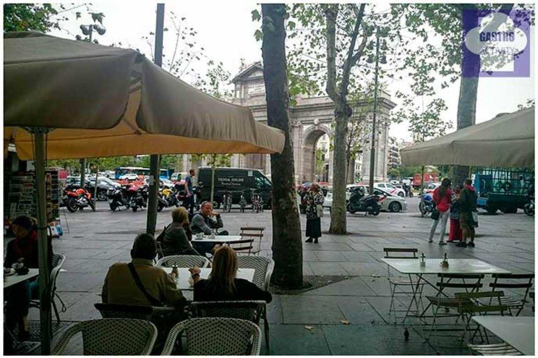 La Puerta de Alcalá desde la terraza de Harina