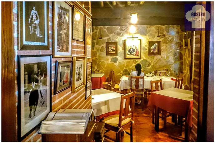 Comedor restaurante El Ruedo Candelario Salamanca