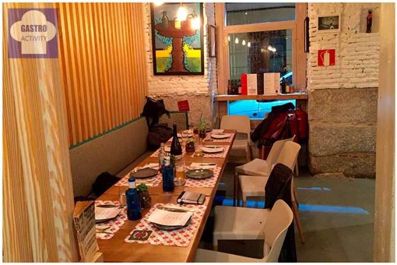 Interior restaurante La Casa Tomada