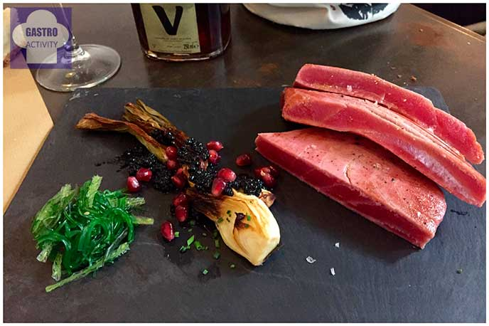 Atun rojo Top Ten Restaurante Madrid