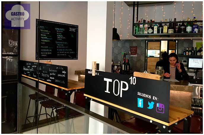 Planta de arriba Top Ten Restaurante Madrid