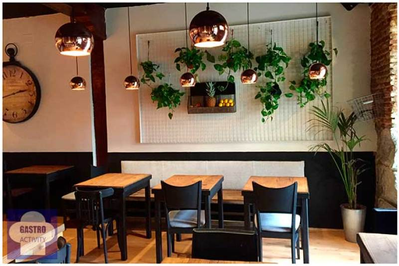 Comedor Zoco Comidero Bar restaurante flexiteriano Madrid