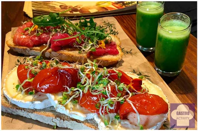 Tostas de Zoco Comidero Bar restaurante flexiteriano Madrid