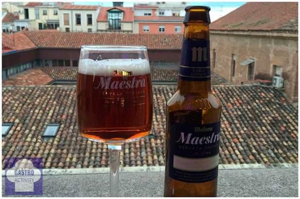 Cerveza Maestra de Mahou