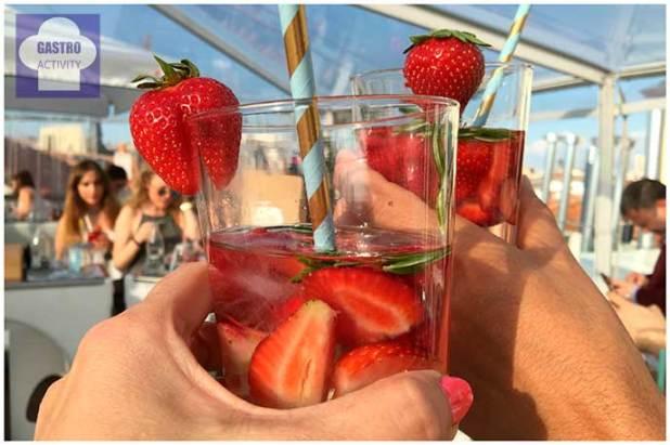 Aguas infusionadas de Bezoya de fresas