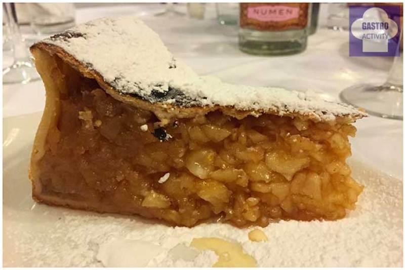 Tarta de mazana Restaurante Bocaito Madrid mejores postres de 2016