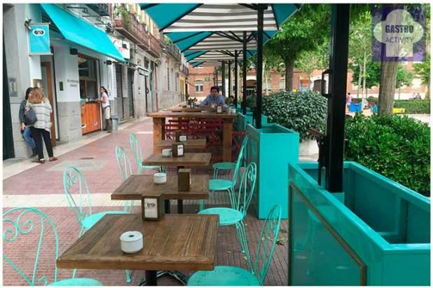 El Patio del Fisgon Chamberi mesas altas 12 terrazas de Madrid en 2016 para disfrutar