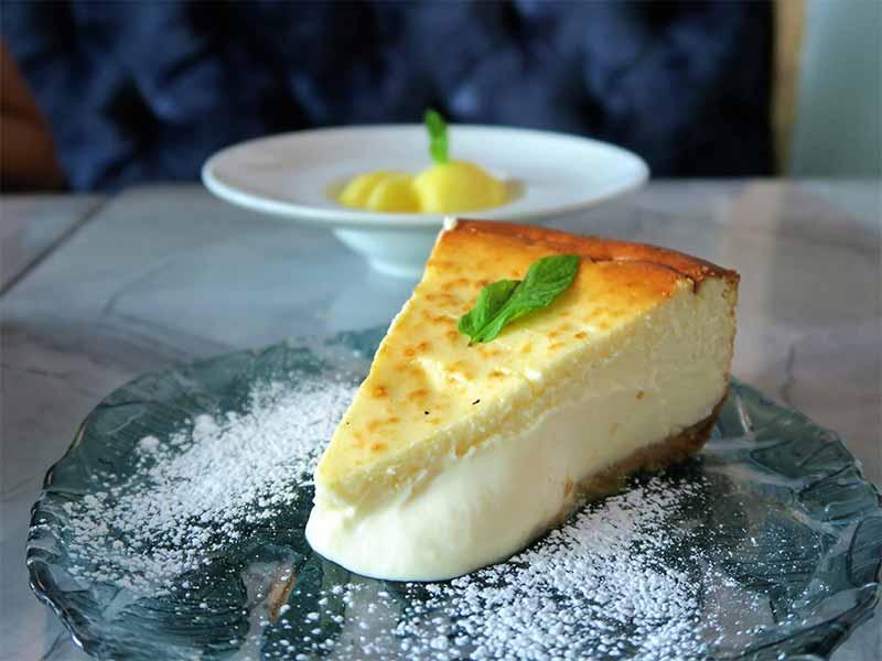 Restaurante Gigi La mejor tarta de queso de Madrid
